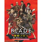 BLADE OF THE IMMORTAL 無限之住人 SEASON 1+2(VOL.1-37 END)+LIVE ACTION MOVIE(4DVD)