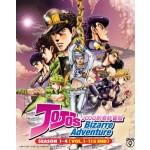 JOJO'S BIZARRE ADVENTURE   JOJO的奇妙冒险  SEASON 1 - 4 (VOL. 1 - 115 END)   (9DVD)