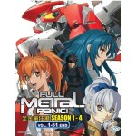 FULL METAL PANIC 全金属狂潮 SEASON 1 - 4 VOL.1-61 END (7DVD)