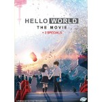 HELLO WORLD THE MOVIE+ 3 SPECIALS (DVD)