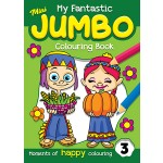 MY FANTASTICS MINI JUMBO COLOURING BK 3
