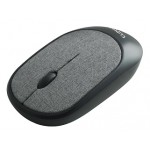 CLIPTEC RZS855 FABRIC XILENT WIRELESS SILENT MOUSE - GREY