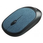 CLIPTEC RZS855 FABRIC XILENT WIRELESS SILENT MOUSE - BLUE
