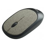 CLIPTEC RZS855 FABRIC XILENT WIRELESS SILENT MOUSE - BROWN