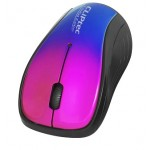 CLIPTEC RZS856S XILENT II WIRELESS SILENT MOUSE - RED/BLUE