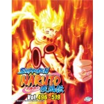 NARUTO SHIPPUDEN 火影忍者疾风传 VOL.496-519 BOX 16 (6 DVD)