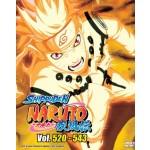 NARUTO SHIPPUDEN 火影忍者疾风传 VOL.520-543 BOX 17 (6 DVD)