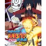 NARUTO SHIPPUDEN  火影忍者疾风传 VOL.640-663   -  BOX 22 (6 DVD)
