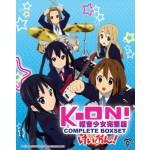 K-ON! COMPLETE BOXSET 轻音少女完整版 (SEASON 1 + 2 + THE MOVIE + 5OVA) (4DVD)