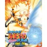 NARUTO SHIPPUDEN  火影忍者疾风传 VOL.688-711   -  BOX 24 (6 DVD)