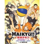 HAIKYŪ!! S1-4 + 2OVA+4 MOVIE