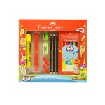 FABER-CASTELL TRI COLOUR PENCILS 12 LONG (STATIONERY SET)