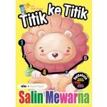 TITIK KE TITIK & SALIN MEWARNA: ABC HURUF KECIL
