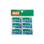 MAX STAPLES NO.10-1M 6PCS