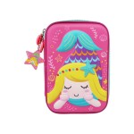 MULTI-FUNCTIONAL EVA DAZZLING ZIPPER CASE (BIG)- MERMAID 9081-13