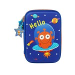 MULTI-FUNCTIONAL EVA DAZZLING ZIPPER CASE (BIG)- ALIEN 9081-21