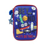 MULTI-FUNCTIONAL EVA DAZZLING ZIPPER CASE (BIG)- SKATEBOARD 9081-25