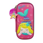 MULTI-FUNCTIONAL EVA DAZZLING ZIPPER CASE (SMALL)- MERMAID 9080-12