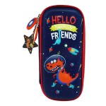 MULTI-FUNCTIONAL EVA DAZZLING ZIPPER CASE (SMALL)- DINASOUR 9080-19
