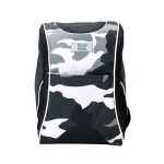 POP KIDS SCHOOL BAG - ACTIVE-X CAMOUFLAGE BLACK