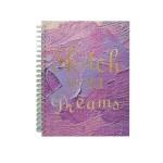 POP ARTZ HARD COVER SKETCH BOOK A4 125 GSM 60 SHEETS PA-HCS60-PURPLE
