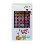POP ARTZ WATER COLOUR CAKE WITH BRUSH 48 COLOURS