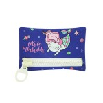 BIG ZIPPER BAG 24.5x15.5CM MERMAID BPD196706