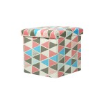 STORAGE BOX CUM CHAIR 38X38X38CM -TRI PL-05S