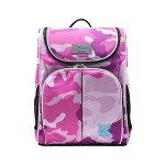 POP KIDS SCHOOL BAG - SCHOOLMATE CAMOUFLAGE PINK
