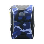 POP KIDS SCHOOL BAG - ACTIVE-X CAMOUFLAGE BLUE