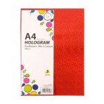 PA A4 HOLOGRAM 250G W/CARDBOARD 5 COLS