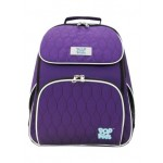 POP KIDS SCHOOL BAG - COMFORT QUILT PURPLE