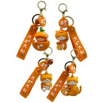 KEY CHARM - ORANGE CAT