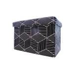 STORAGE BOX CUM CHAIR 48*31*31CM -SQUARE FL-1311M