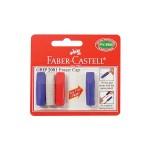 FABER-CASTELL ERASER CAP 3PCS FOC 1PCS 187004