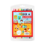 STABILO YIPPY-WAX CRAYON - 24 COLOURS
