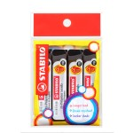 Stabilo Hi-Polymer 2B Pencil Lead 0.5mm in Pack of 4 Pieces