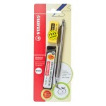 Stabilo 3555 0.5mm Mechanical Pencil + Pencil Lead + Eraser (Random Color)