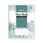 CAMPAP WRITE-ON PVC NOTE BOOK F5 70GSM 240 SHEETS