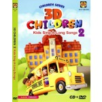 3D CHILDREN 2-KID SING-A-LONG SONG(CD+DVD)