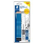 STAEDTLER Mars® Lumograph® 100 Premium Quality 5B Pencils in Set (6 Pieces)