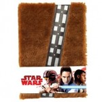 DISNEY STAR WARS HAN SOLO CHEWIE A5 PLUSH NOTE BOOK