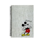 MICKEY EDITORIAL A5 HARD COVER WIRE O NOTE BOOK