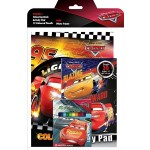CARS ACTIVITY & COLOURING BOOK SET (WITH COLOUR PENCIL)