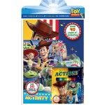 TOY STORY 4 ACTIVITY & COLOURING BOOK SET(WITH COLOUR PENCILS)