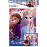 FROZEN 2 ACTIVITY & COLOURING BOOK SET(WITH CRAYON)