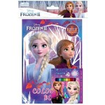 FROZEN 2 COLOURING BOOK SET (WITH STICKER & COLOUR PENCILS)