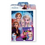 FROZEN 2 ACTIVITY & COLOURING BOOK SET(WITH COLOUR PENCILS)