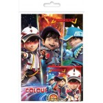BOBOIBOY ACTIVITY & COLOURING BOOK SET(WITH CRAYON)