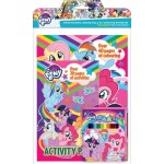 LITTLE PONY ACTIVITY & COLOURING BOOK SET (WITH COLOUR PENCILS)